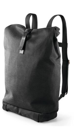 Brooks Pickwick Backpack Canvas 24 L total black